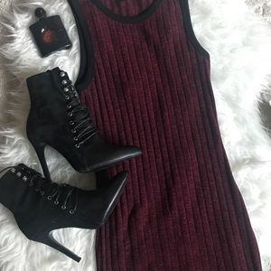 Forever21 Ribbed Tank Dress